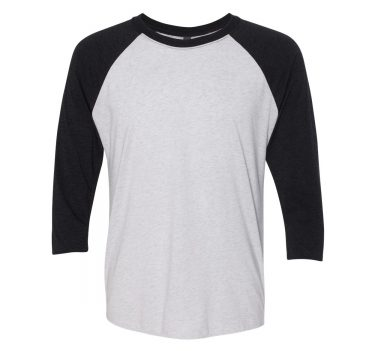 Custom Printed Next Level Raglan