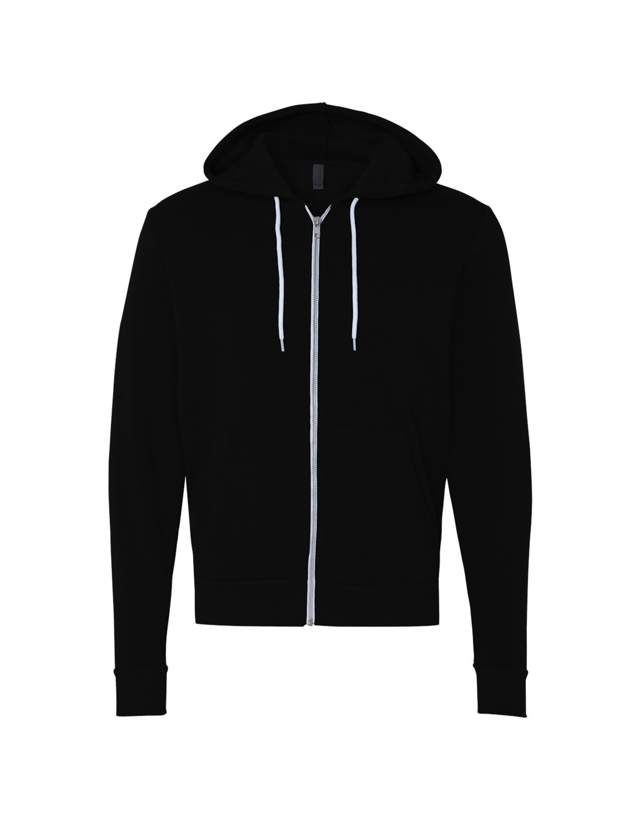 Bella + Canvas - Unisex Full-Zip Hooded Sweatshirt - 3739